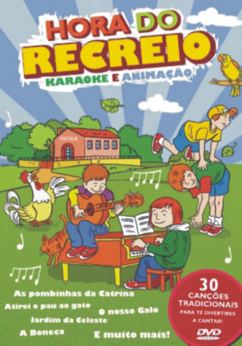 Hora do Recreio - DVD