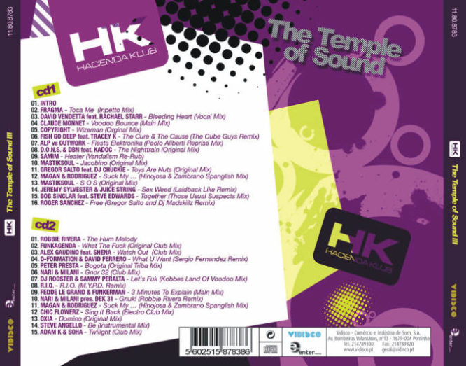 HACIENDA KLUB – THE TEMPLE OF SOUND III