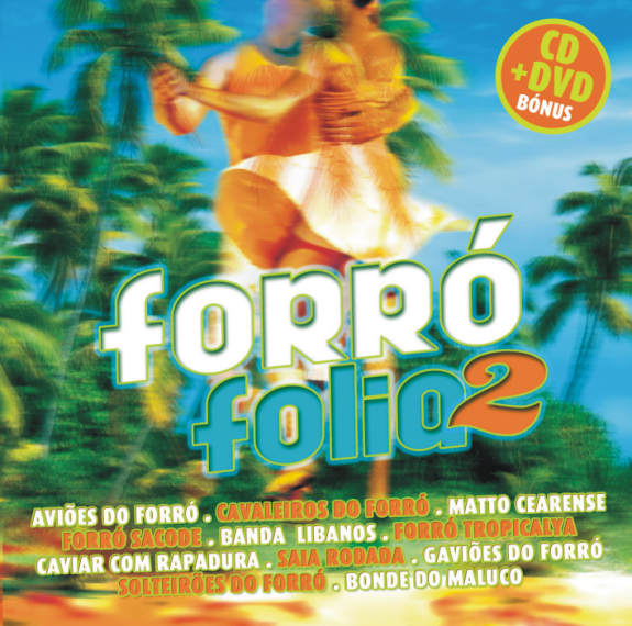 Forró Folia 2-CD+DVD