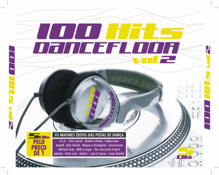 100 hits dancefloor vol 2 loja da musica for 100 hits dance floor