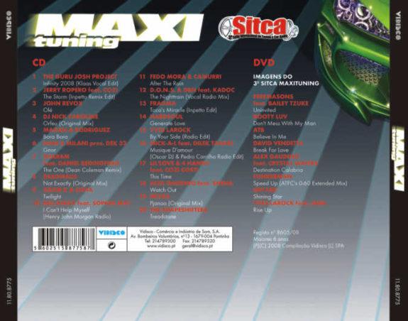 Maxi Tuning - 3 SITCA CD + DVD