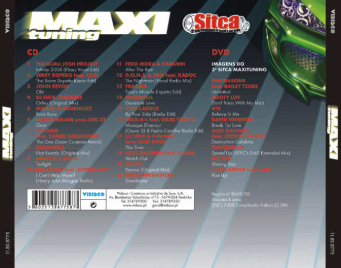 Maxi Tuning - 3 SITCA CD + DVD