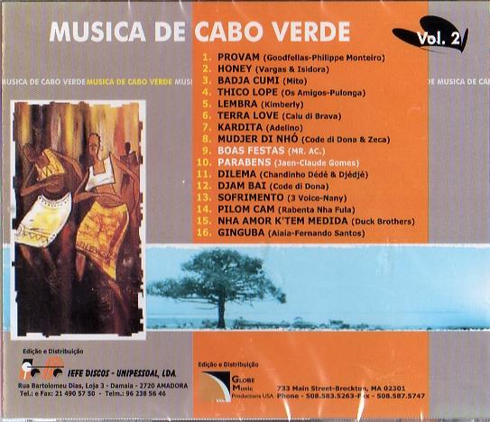 Musica de Cabo Verde - Vol2