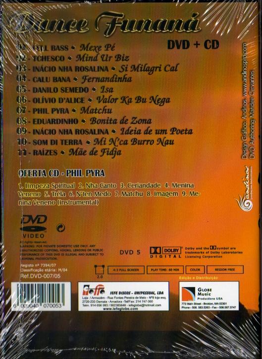 Dance Funaná - CD + DVD