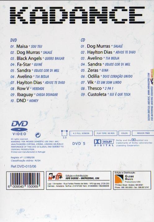 Kuduros DVD + CD