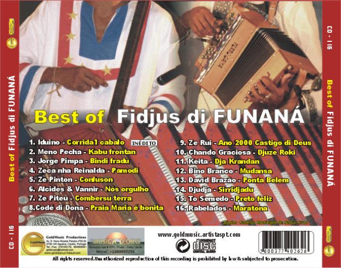 Best of Fidjus di Funáná