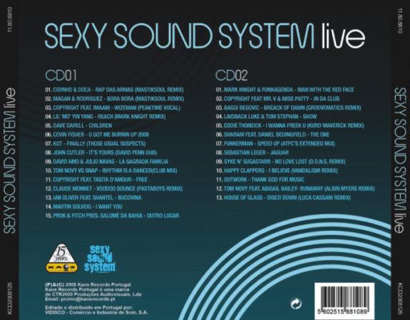 Sexy Sound System - Live