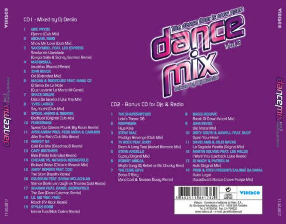 Dance Mix - Mixed by Dj Danilo - Vol. 3