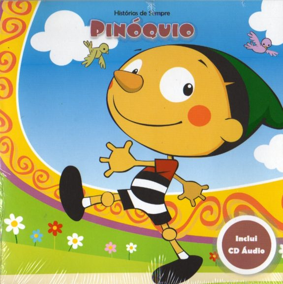 Pinóquio-Livro+CD