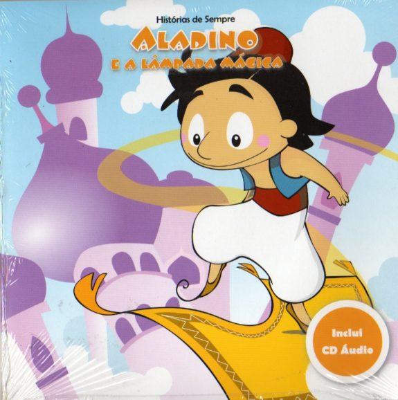 Aladino e a Lampada Mágica - Livro+CD