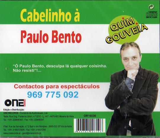 Cabelinho á Paulo Bento