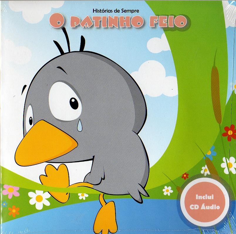 O Patinho Feio - Livro+CD