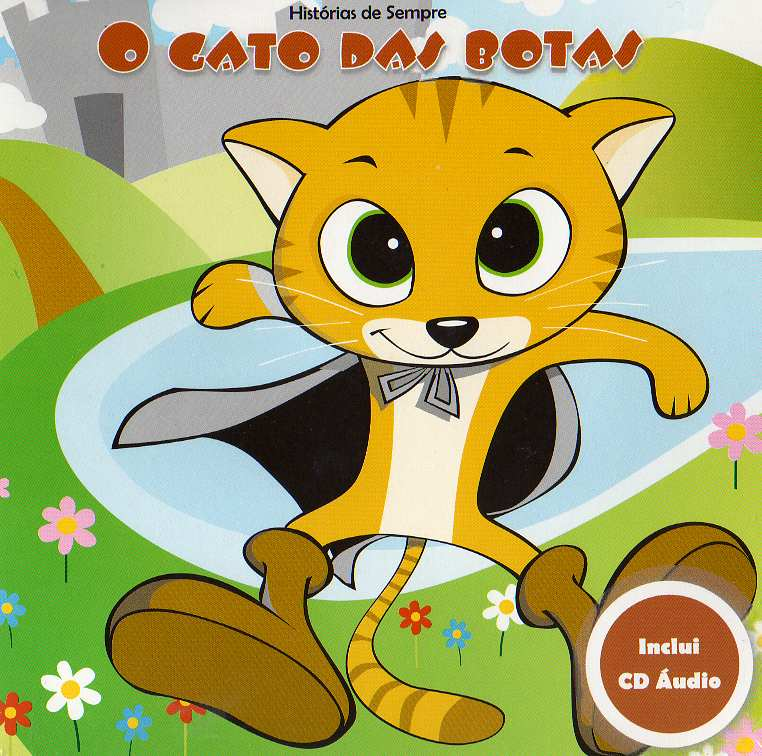 O Gato das Botas -Livro+CD