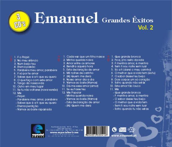 Grandes êxitos Vol 2-Pack de 3 CDs