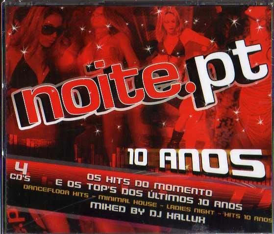 Noite PT 10 Anos - 4 CDs *