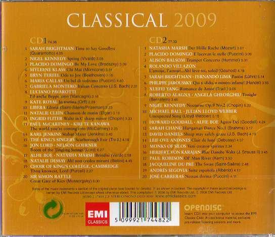 Classical 2009 2 Cds