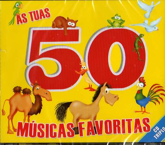 As tuas 50 Músicas Favoritas 3 CDs
