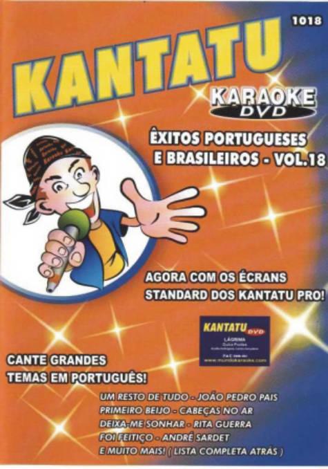 Êxitos Portugueses e Brasileiros Vol.18