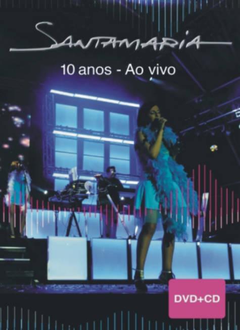 Santamaria 10 anos (ao vivo) DVD+CD