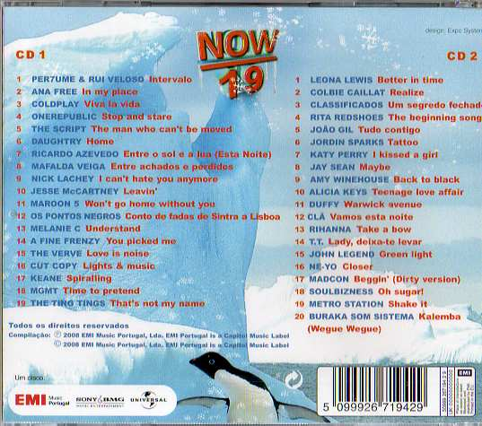 Now 19 2 Cds