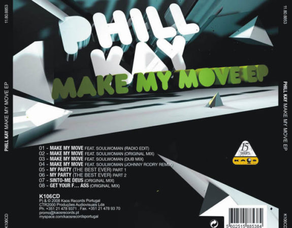 MAKE MY MOVE - EP