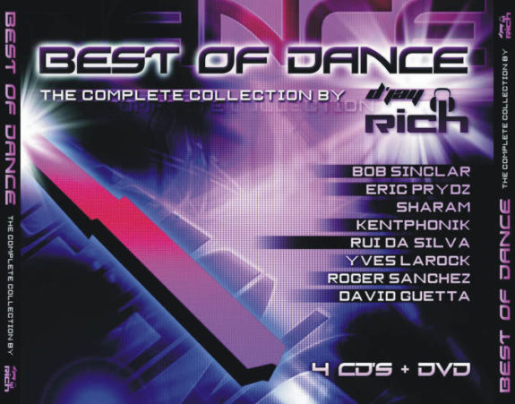 BEST OF DANCE - THE COMPLETE COLLECTION BY D JAY RICH