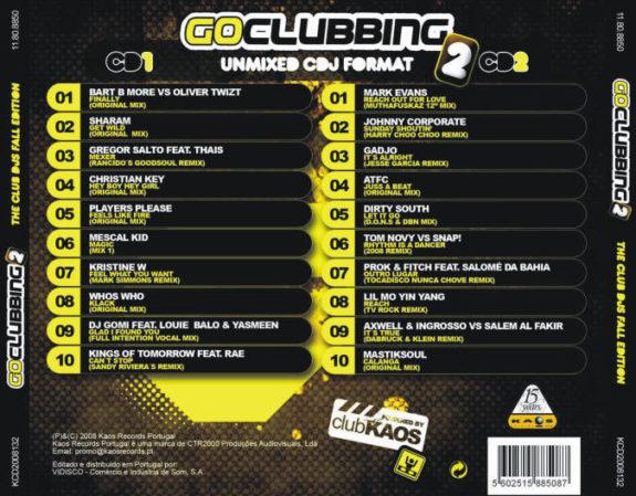 GO CLUBBING 2 - Fall Edition