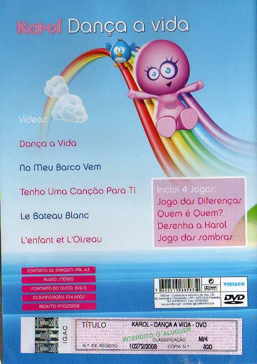 Dança a Vida DVD