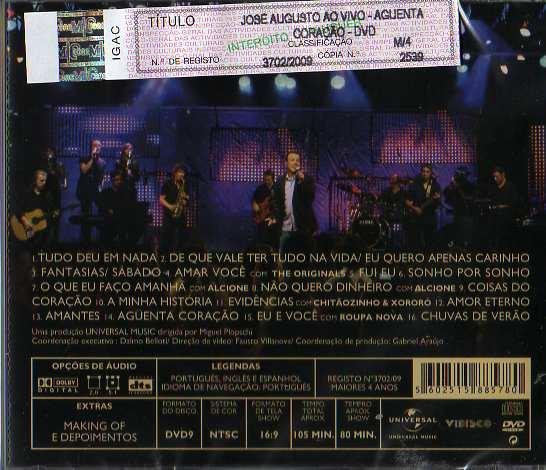 Aguenta Coração Ao Vivo Cd+DVD