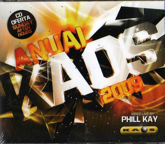 Anual Kaos - Mixed Live By Phill Kay - 3CDs