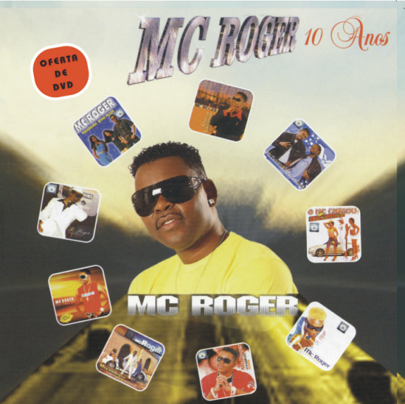 MC Roger 10 Anos CD+DVD