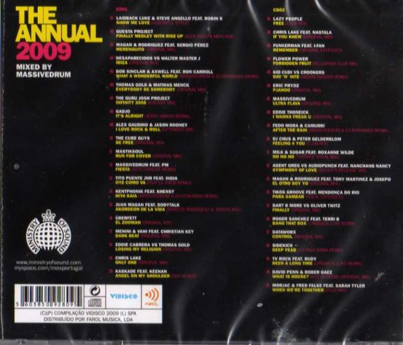 Ministry Of Sound - 2cds