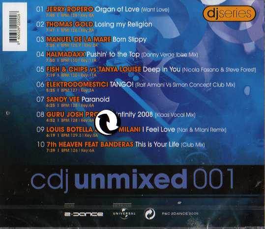CDJ Unmixed 001