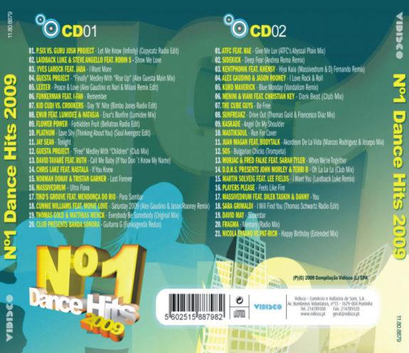 Nº1 DANCE HITS 2009