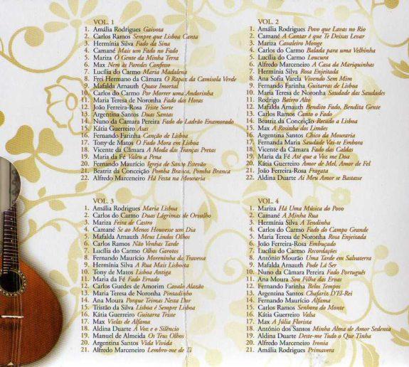 The Best Of Fado - edição especial 4 CDs