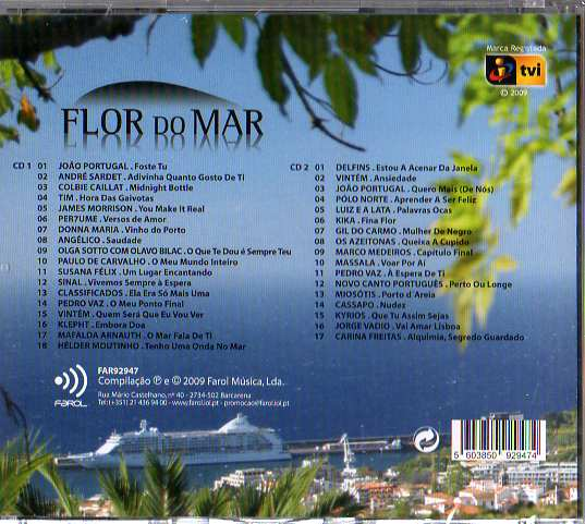 Flor do Mar  2 Cds