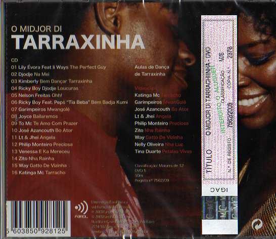 O Midjor Di Tarrachinha CD + DVD