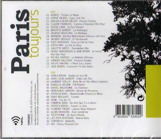 Paris Toujours 2 Cds