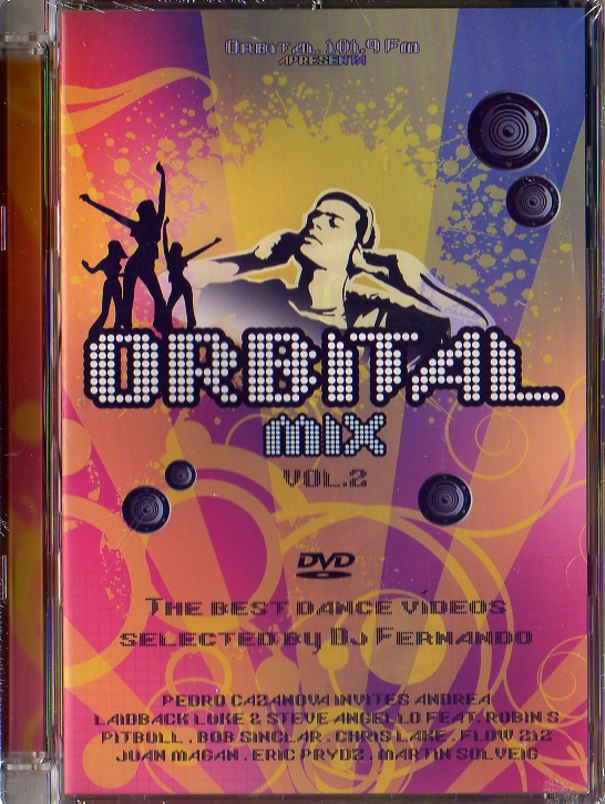ORBITAL MIX vol 2 - DVD