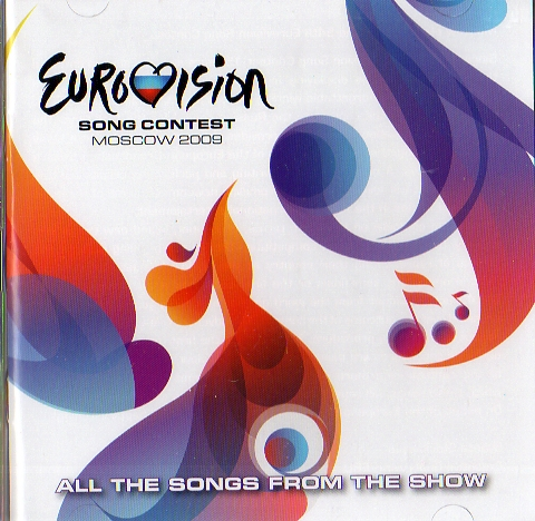 Eurovision Song Contest - Moscow 2009 - 2CD