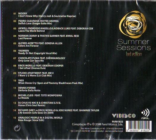 Summer Sessions Last Edition
