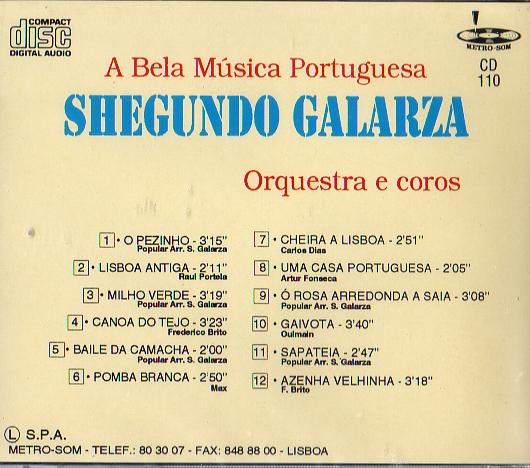 A Bela Musica Portuguesa
