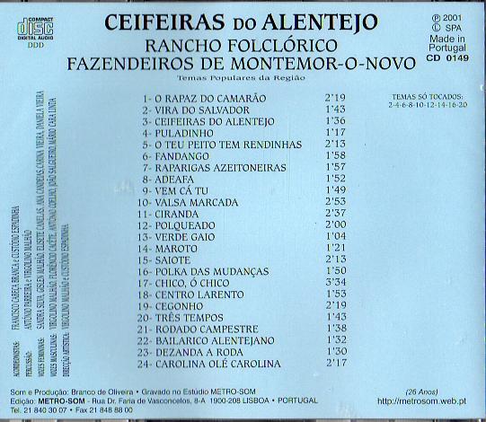 Rancho Folclórico Fazendeiros de Montemor-O-Novo