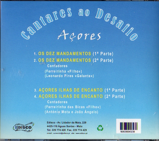 Açores - Cantares ao Desafio