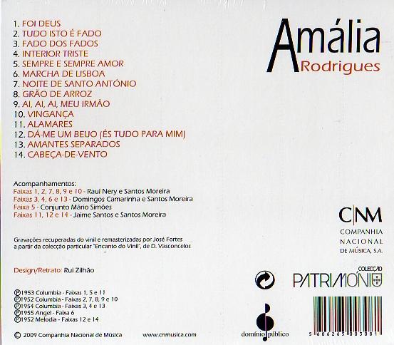 Amália Rodrigues - Colecção Património