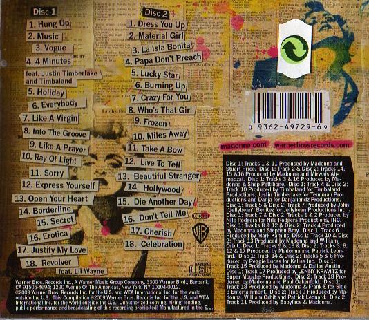 Celebration - 2CDs