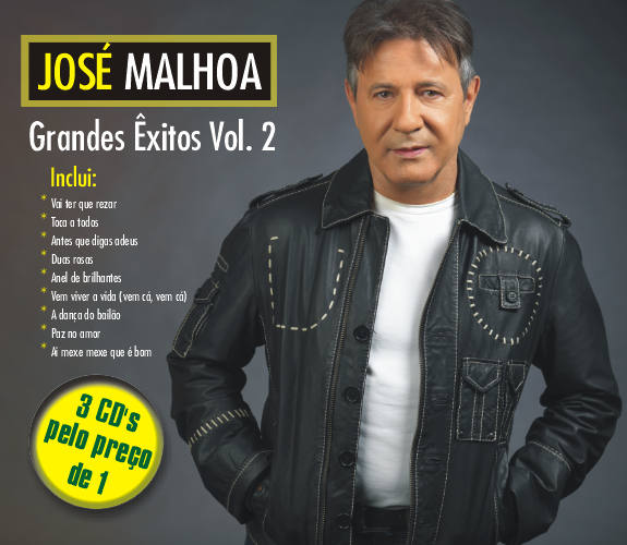 Grandes Exitos Vol. 2- Pack 3 CDs