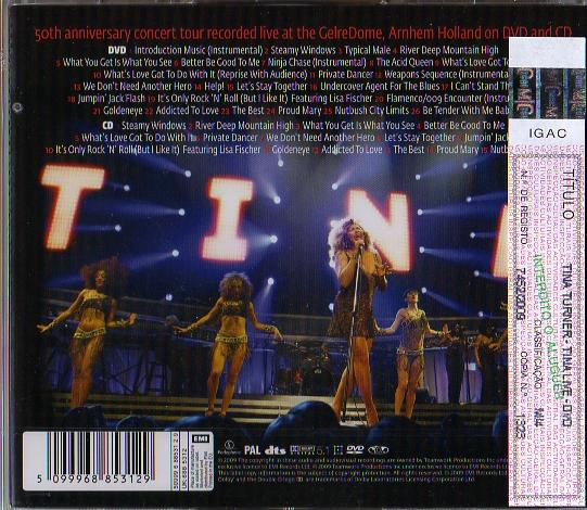 Tina Turner - Live