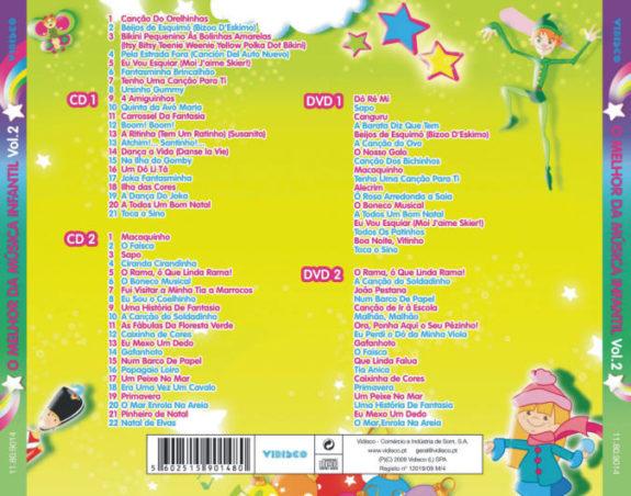 O Melhor da música infantil Vol. 2