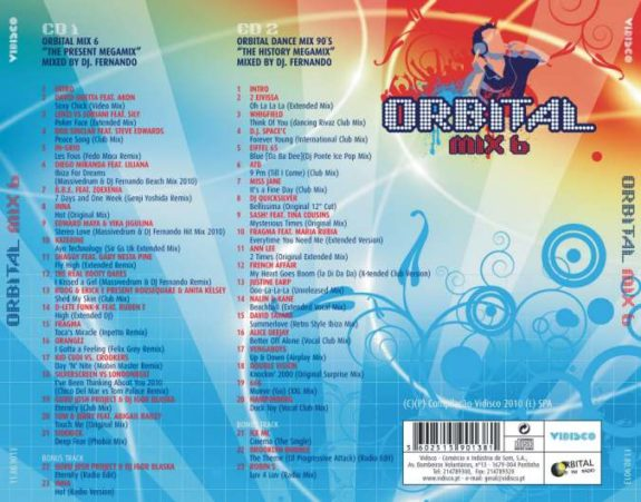 Orbital Mix 6 - Mixed by Dj Fernando